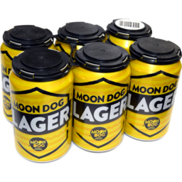 Photo of Moon Dog Lager Can 6 Pack