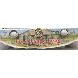 Photo of Keans Free Range Eggs 600g