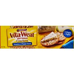 Photo of Arnott's Vita~Weat Sesame & Poppy Seed 100% Light & Crispy 130g