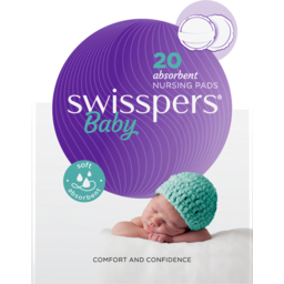 Photo of Swisspers Nursing Pads Regular 20s