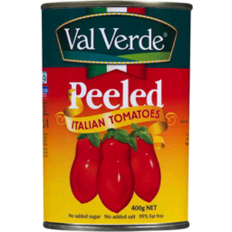 Photo of Val Verde Tomatoes Italian Peeled 400g