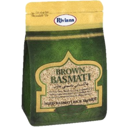Photo of Riviana Rice Basmati Brwn 1kg
