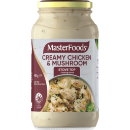 Photo of Masterfoods Creamy Chicken & Mushroom Cooking Sauce 490g