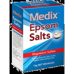 Photo of Medix Epsom Salts 1kg