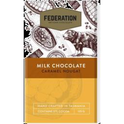 Photo of Caramel Nougat Milk Chocolate