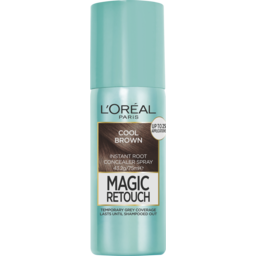 Photo of L'oréal Paris Magic Retouch Temporary Root Concealer Spray - Cool Brown (Instant Grey Hair Coverage) 75ml