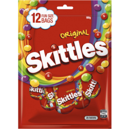 Photo of Skittles® Fruits Lollies Party Share Bag 12 Piece 180g
