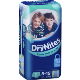 Photo of Huggies Drynites Pyjama Pants, Girls, Size: 8 - 15 Years (27 - 57kg), 9 Pants