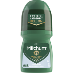 Photo of Mitchum Men's Roll On Unscented 50ml