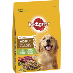 Photo of Pedigree Dry Dog Food Real Kangaroo 8kg Bag