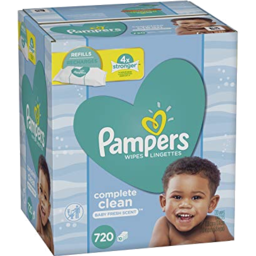 Photo of Pampers Scented Baby Wipes
