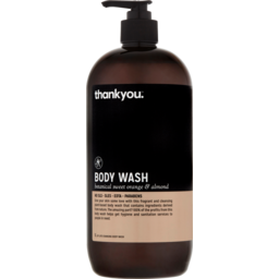 Photo of Thankyou. Orange & Almond Bodywash 1l