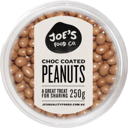 Photo of Joes Choc Coated Peanuts 250gm