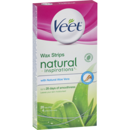 Photo of Veet Inspirations Wax Strips Aloe Vera 20s
