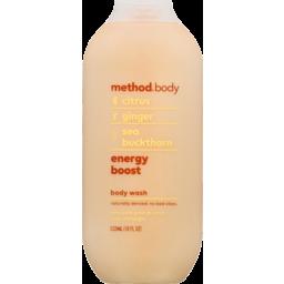 Photo of Method Body Wash Energy Boost 532ml