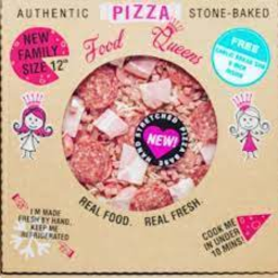 Photo of F/Q Pizza Chick & Bacon 600g