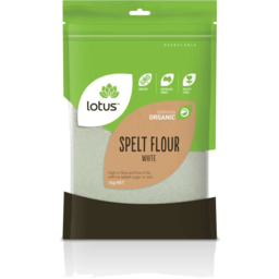 Photo of Lotus Flour - Spelt (White)
