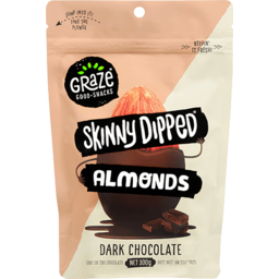 Photo of Graze S/Dip Almnds Dark Choc 300gm