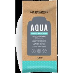 Photo of Jak Organic Aqua Mini Cleanser Wipes 25pk