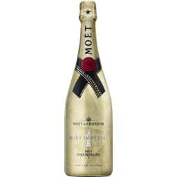 Photo of Moet & Chandon Champagne Nv Gold Limited Edition