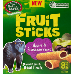 Photo of Mother Earth Fruit Sticks Blackcurrant 8 Pack