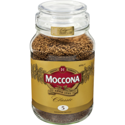 Photo of Moccona Classic Medium Roast 400g