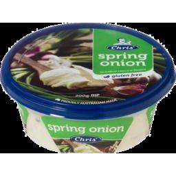 Photo of Chris Dips Spring Onion 200gm