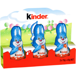 Photo of Kinder Easter Bunny 3x15g