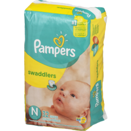 Photo of Pampers Swaddlers Diapers Size N - 32 Ct