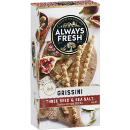 Photo of Always Fresh Grissini Sesame Seed Salt 125g