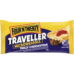 Photo of Four 'N Twenty Traveller Microwavable Philly Cheesesteak 160g