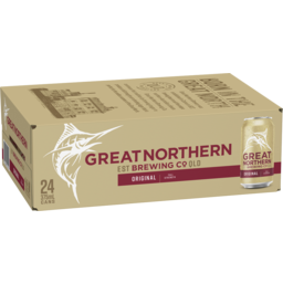 Photo of Great Northern Original Lager Can 375ml 24 Pack