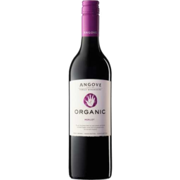 Photo of Angove Organic Merlot 750ml