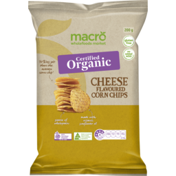 Photo of Macro Organic Corn Chips Cheese 200g