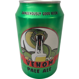 Photo of Venom Pale Ale Cans 330ml 24 Pack