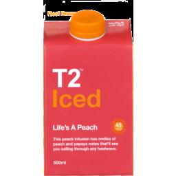 Photo of T2 Iced Life's A Peach 500ml