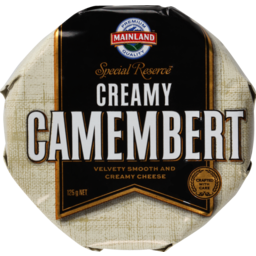 Photo of Mainland Cheese Special Reserve Camembert 125g