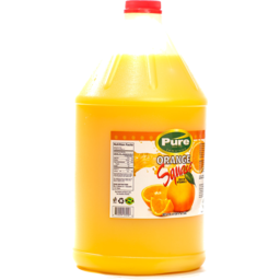 Photo of Pure Syrup Orange Squash