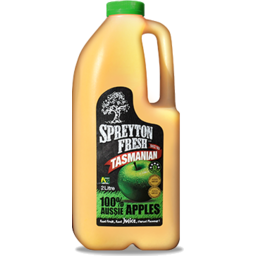 Photo of Spreyton Fresh Tasmanian 100% Apple Juice 2L