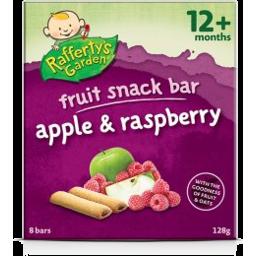 Photo of Rafferty Snack Bar Apple Raspberry 128gm