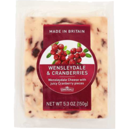 Photo of Wensleydale Cranberries