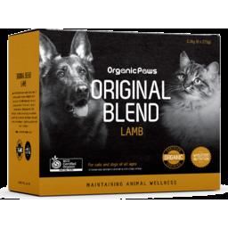 Photo of Organic Paws Original Blend - Lamb (8 X 275gm)