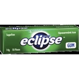 Photo of Wrigley's Eclipse Ice Spearmint Sugarfree Gum 14g 14g