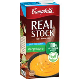 Photo of Campbells Real Stock Vegetable Salt Reduced 1l