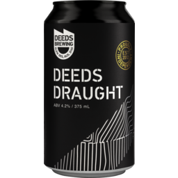Photo of Deeds Draught Can 375ml