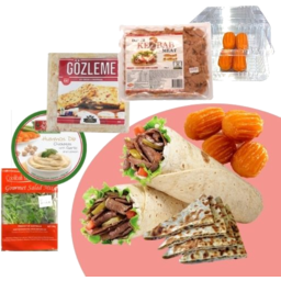 Photo of Lamb Meal Pack With Mushroom & Cheese Gozleme