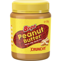 Photo of Bega Peanut Butter Crunchy 780gm