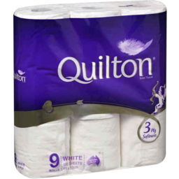 Photo of Quilton Toilet Tissue Classic White 9pk