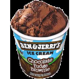 Photo of Ben & Jerrys Chocolate Fudge Brownie 458ml