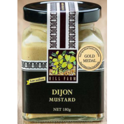 Photo of Hill Farm Mustard Dijon 180gm